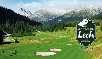 Golfing during your holidays at the Arlberg